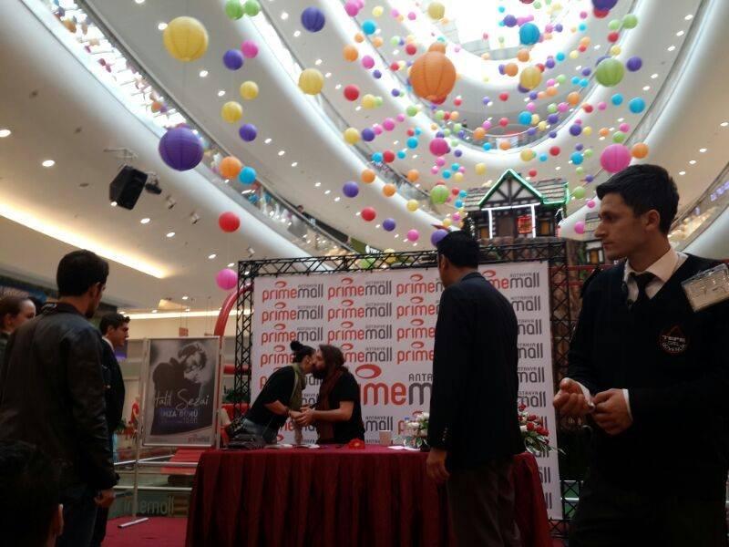 Halil Sezai İmza Günü Primemall Antakya Akademi Organizasyon